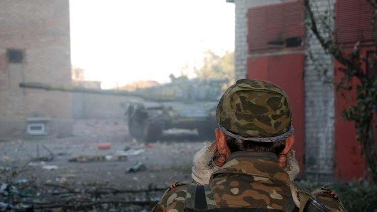 تواصل الاشتباكات في مطار دونيتسك