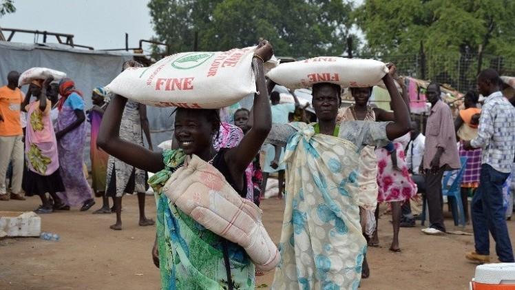 منظمات الإغاثة تحذر من مجاعة في دولة جنوب السودان