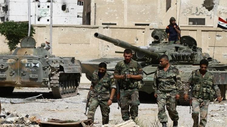الجيش السوري يستعيد مناطق عدة في ريف دمشق