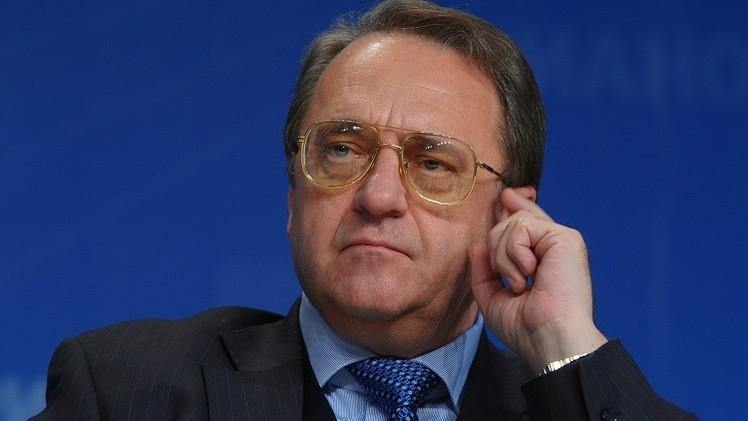 بوغدانوف يلتقي السفير الأمريكي لدى موسكو