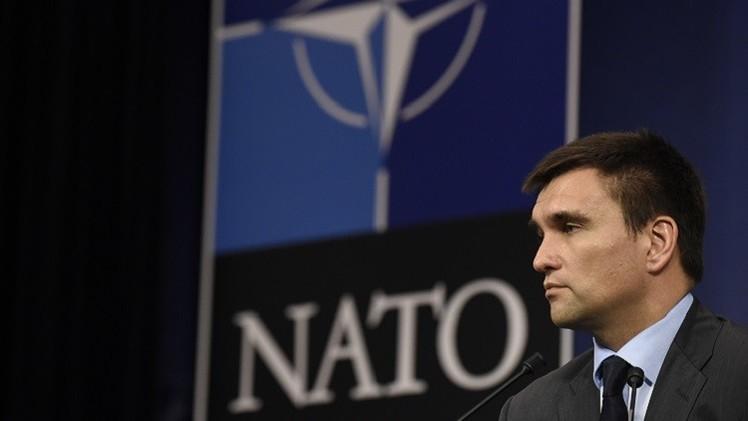 الأمين العام الجديد للناتو يلتقي وزير الخارجية الأوكراني