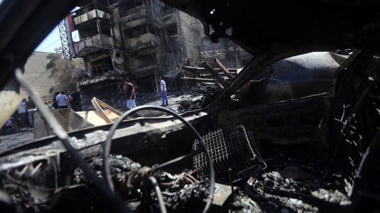 17 قتيلا على الأقل في هجوم انتحاري شمالي بغداد