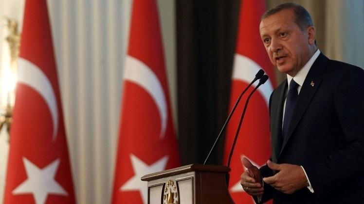 أردوغان: العمل البري ضروري للقضاء على