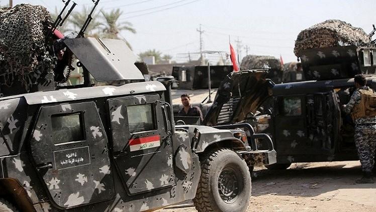 القوات العراقية تستعيد مناطق من تنظيم
