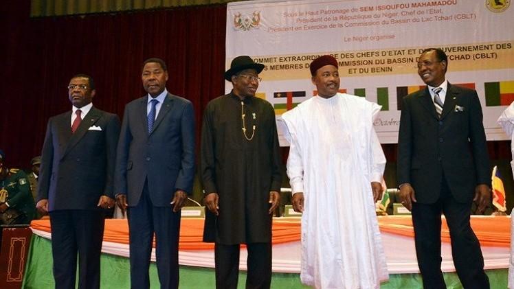 700 جندي أفريقي يواجهون بوكو حرام الشهر المقبل