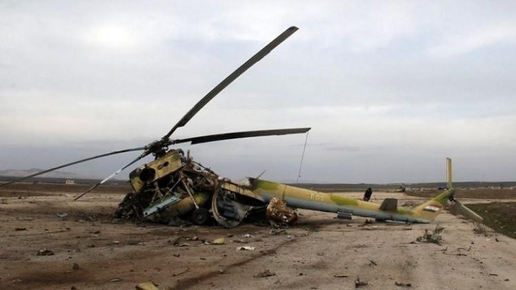 تحطم ثاني مروحية عسكرية عراقية في أسبوع قرب بيجي