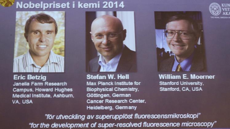 عالمان أمريكيان وآخر ألماني يتقاسمون جائزة نوبل في الكيمياء