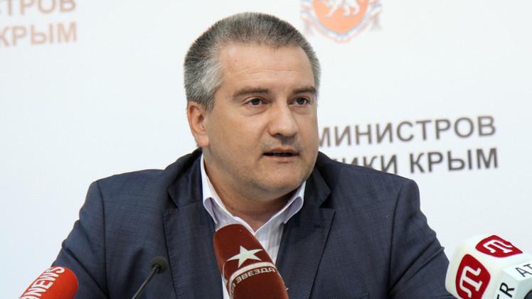 انتخاب سيرغي أكسيونوف رئيسا لجمهورية القرم
