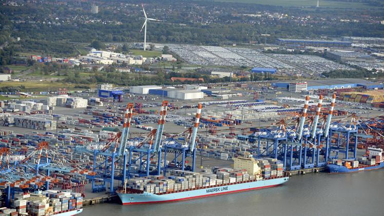 صادرات ألمانيا تتراجع لأقل مستوى في خمس سنوات ونصف