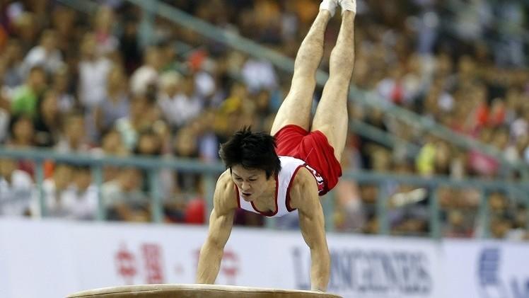 الياباني يوشيمورا بطلا للعالم  في الجمباز للمرة الخامسة على التوالي