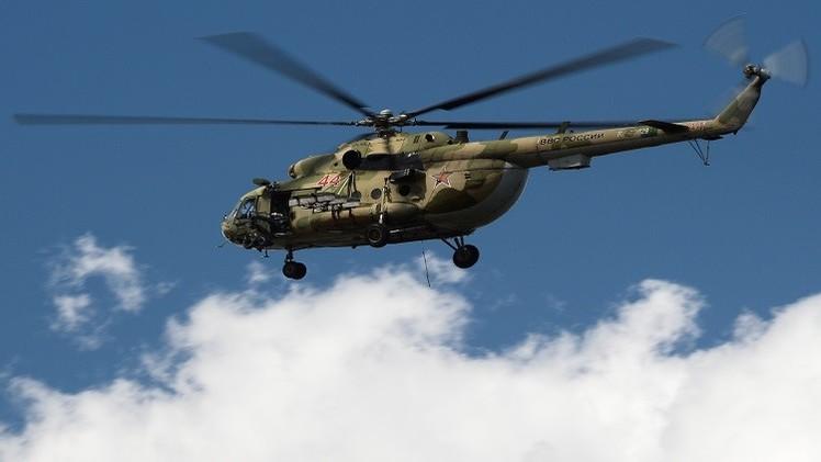انقطاع الاتصال بحوامة تقل 12 شخصا في سيبيريا