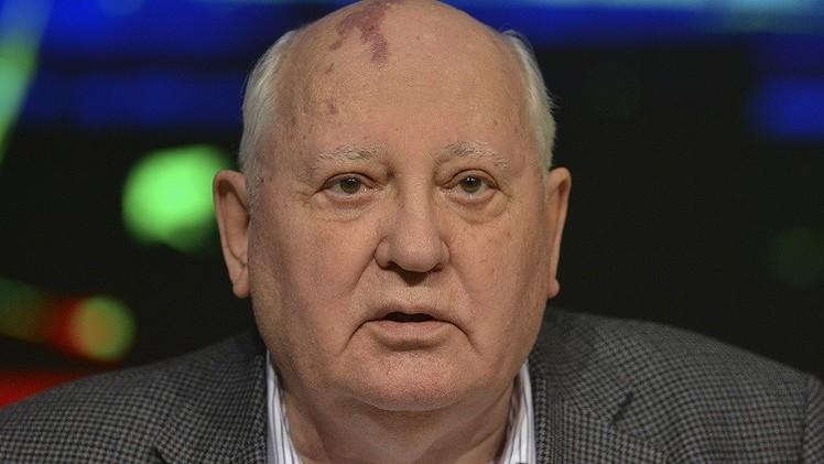 غورباتشوف في المستشفى إثر وعكة صحية