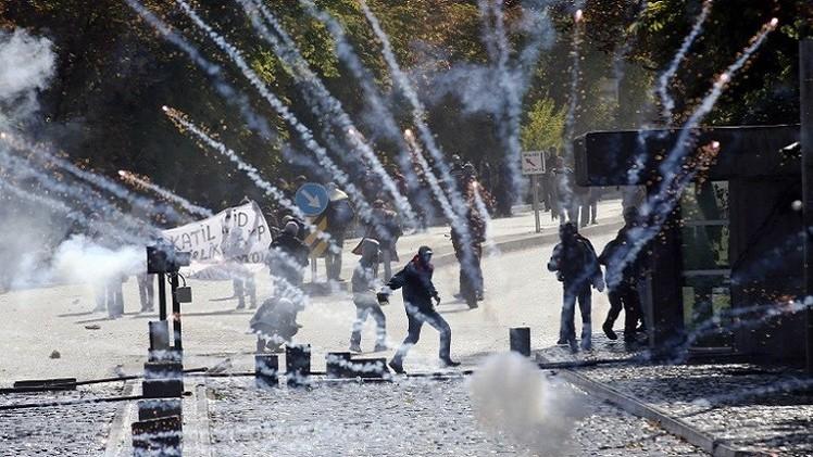 تركيا: ارتفاع عدد ضحايا المظاهرات المؤيدة للأكراد إلى 31 قتيلا