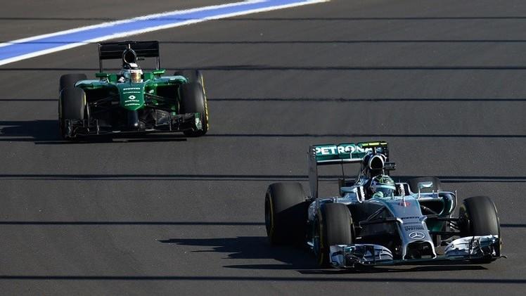 روزبرغ الأسرع في أولى التجارب الحرة لجائزة سوتشي للفورمولا 1