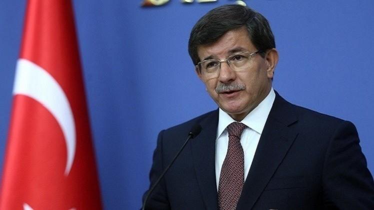 أوغلو يجدد معارضة تركيا لتنظيم الدولة والنظام السوري