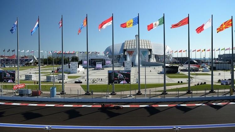 الرئيس الروسي وملك البحرين يحضران سباق جائزة روسيا الكبرى للفورمولا-1