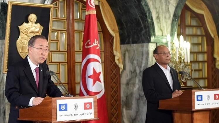 بان كي مون: الأمم المتحدة ستبذل ما في وسعها لتكون انتخابات تونس