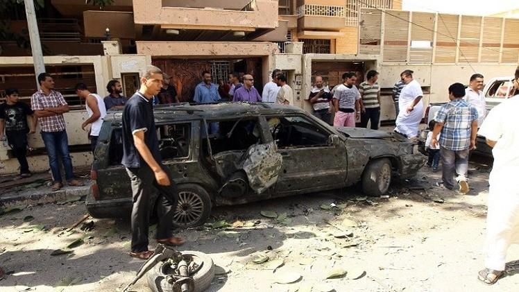 انفجار سيارة مفخخة في بنغازي الليبية