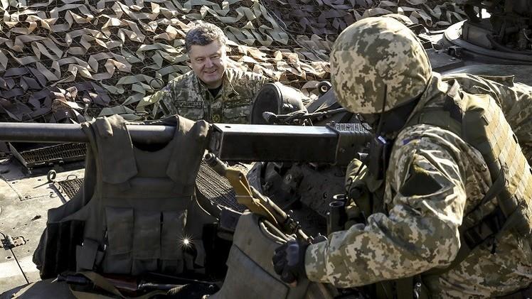 الرئيس الأوكراني يعلن عن بناء ثلاثة
