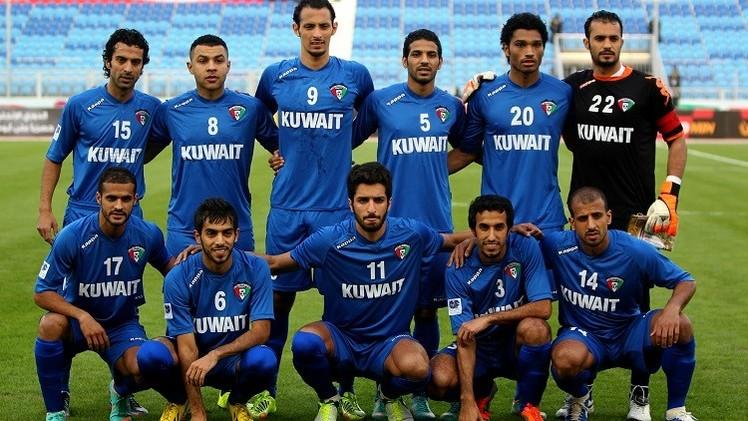 الأزرق الكويتي يهزم نشامى الأردن في عقر دارهم وديا