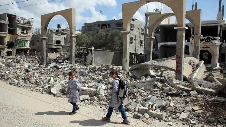 مخاوف من عدم توفير  المبلغ المطلوب في مؤتمر المانحين لإعادة إعمار غزة