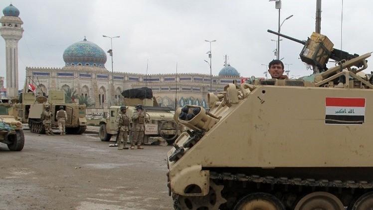 حكومة الأنبار في العراق تدعو التحالف إلى التدخل البري لمحاربة داعش