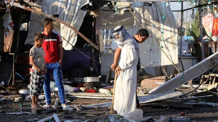 45 قتيلا وعشرات الجرحى  بتفجيرات في بغداد