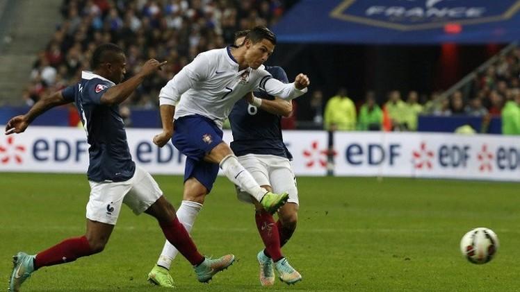 بنزيما يتفوق على رونالدو في ودية فرنسا والبرتغال