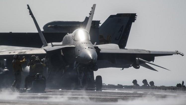 طيران التحالف يشن 9 غارات ضد مواقع داعش في سورية والعراق (فيديو)