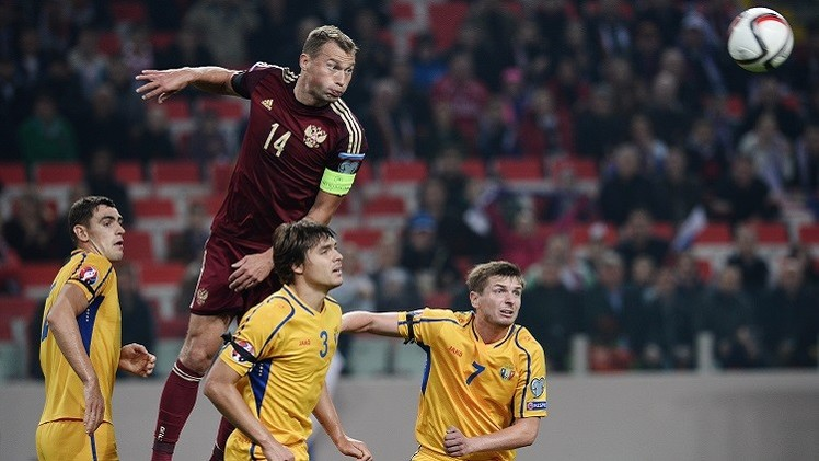 روسيا تسقط في كمين مولدوفا ضمن تصفيات