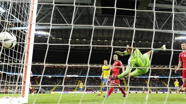 السويد تنجز المهمة أمام ليشتنشتاين في تصفيات