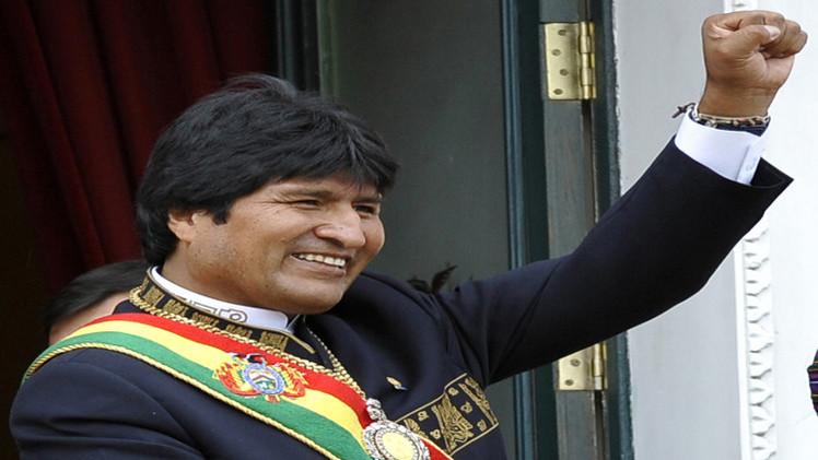 موراليس يعلن فوزه برئاسة بوليفيا لولاية ثالثة