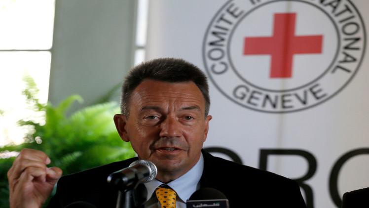 الصليب الأحمر يدعو لوقف استخدام الأسلحة الثقيلة في المدن