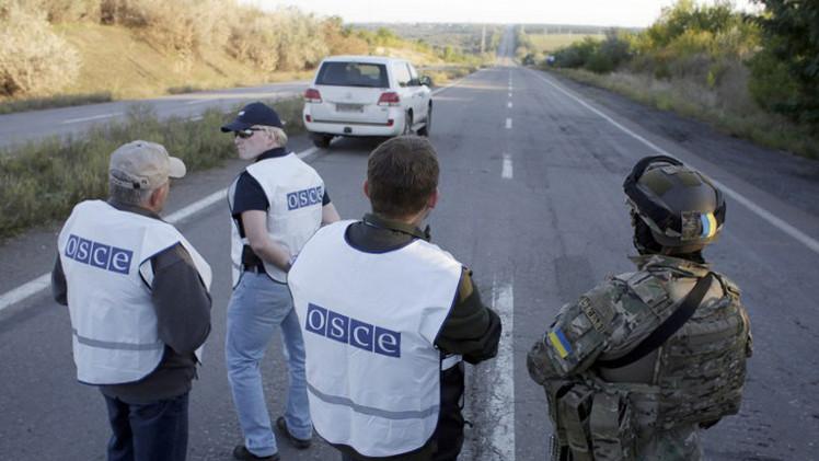 بعثة المراقبة الدولية تعلن استعدادها لمراقبة الحدود الأوكرانية