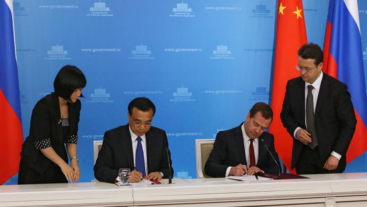روسيا والصين توقعان 38 اتفاقية أبرزها في مجال النفط والغاز