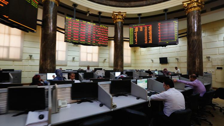 تراجع المؤشرات المصرية في نهاية تداولات الاثنين