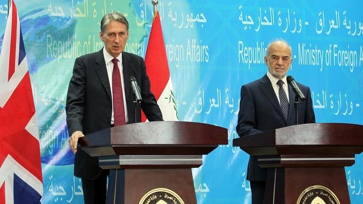 هاموند: السلطات العراقية مسؤولة عن العمليات البرية ضد