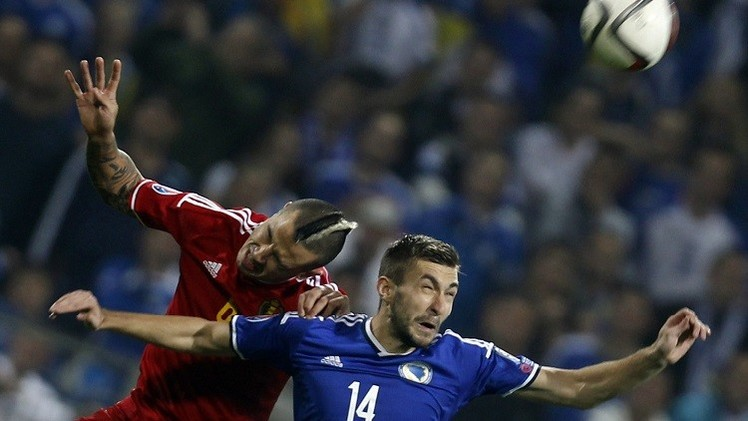 تعادل البوسنة والهرسك مع بلجيكا وفوز ويلز على قبرص