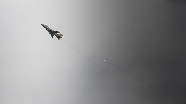 الطيران السوري يضاعف غاراته في إدلب والتحالف يقصف