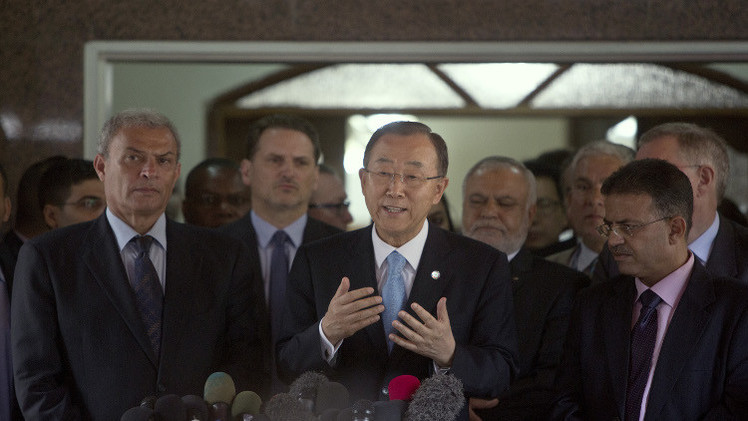 بان كي مون: الدمار في غزة يفوق الوصف