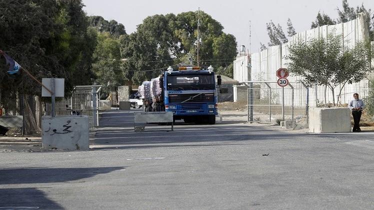 إسرائيل تفتح معبرا مع غزة لإدخال مواد البناء