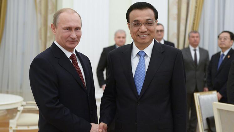 روسيا والصين تسعيان لرفع التبادل التجاري بينهما