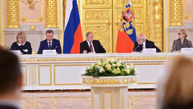 بوتين يؤيد تشديد العقوبة على جرائم الفساد