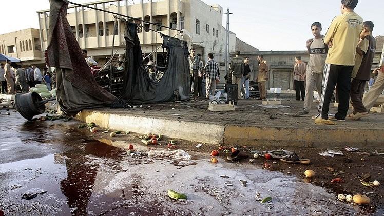 مقتل 15 شخصا بينهم برلماني بتفجير انتحاري شمال بغداد