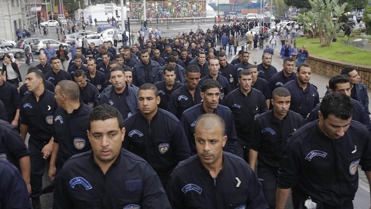 احتجاج نادر لضباط حفظ الأمن في الجزائر