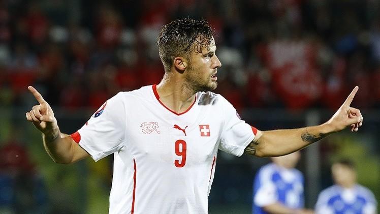 سويسرا تدك شباك سان مارينو برباعية في تصفيات كأس أوروبا