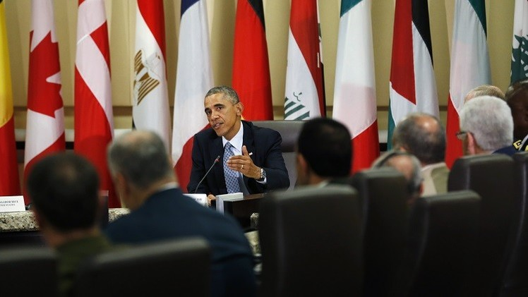 أوباما يعرب عن قلقه إزاء الوضع في كوباني والأنبار