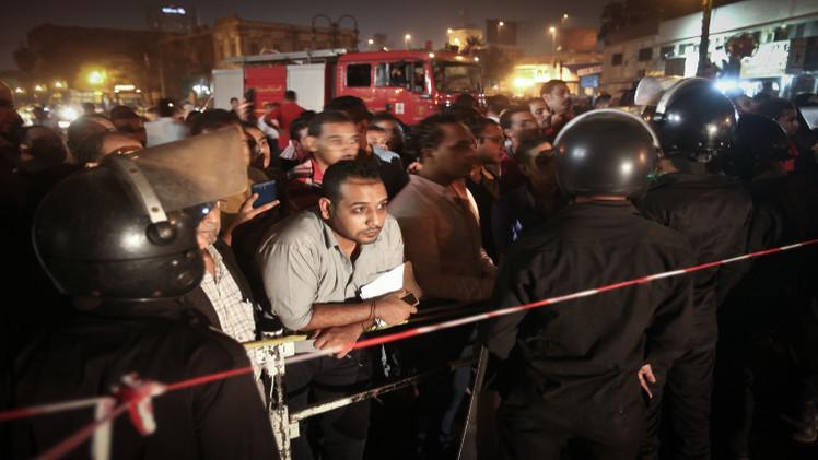 إصابة 14 شخصا في انفجار وسط القاهرة