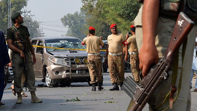 5 قتلى على الأقل في هجوم انتحاري شمالي باكستان