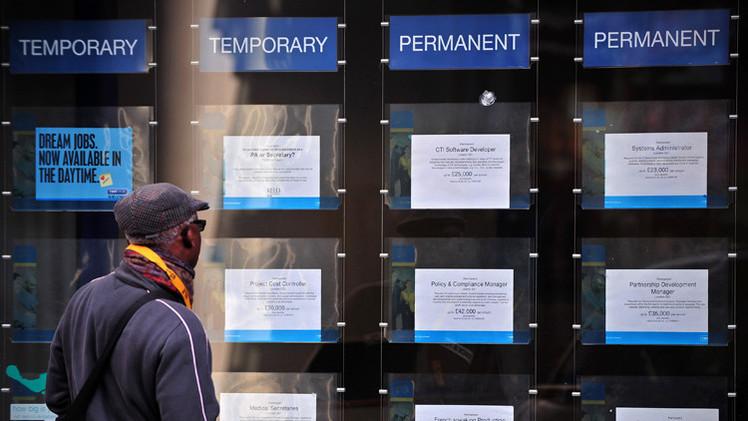 تراجع معدل البطالة في بريطانيا مع تباطؤ تعافي سوق العمل
